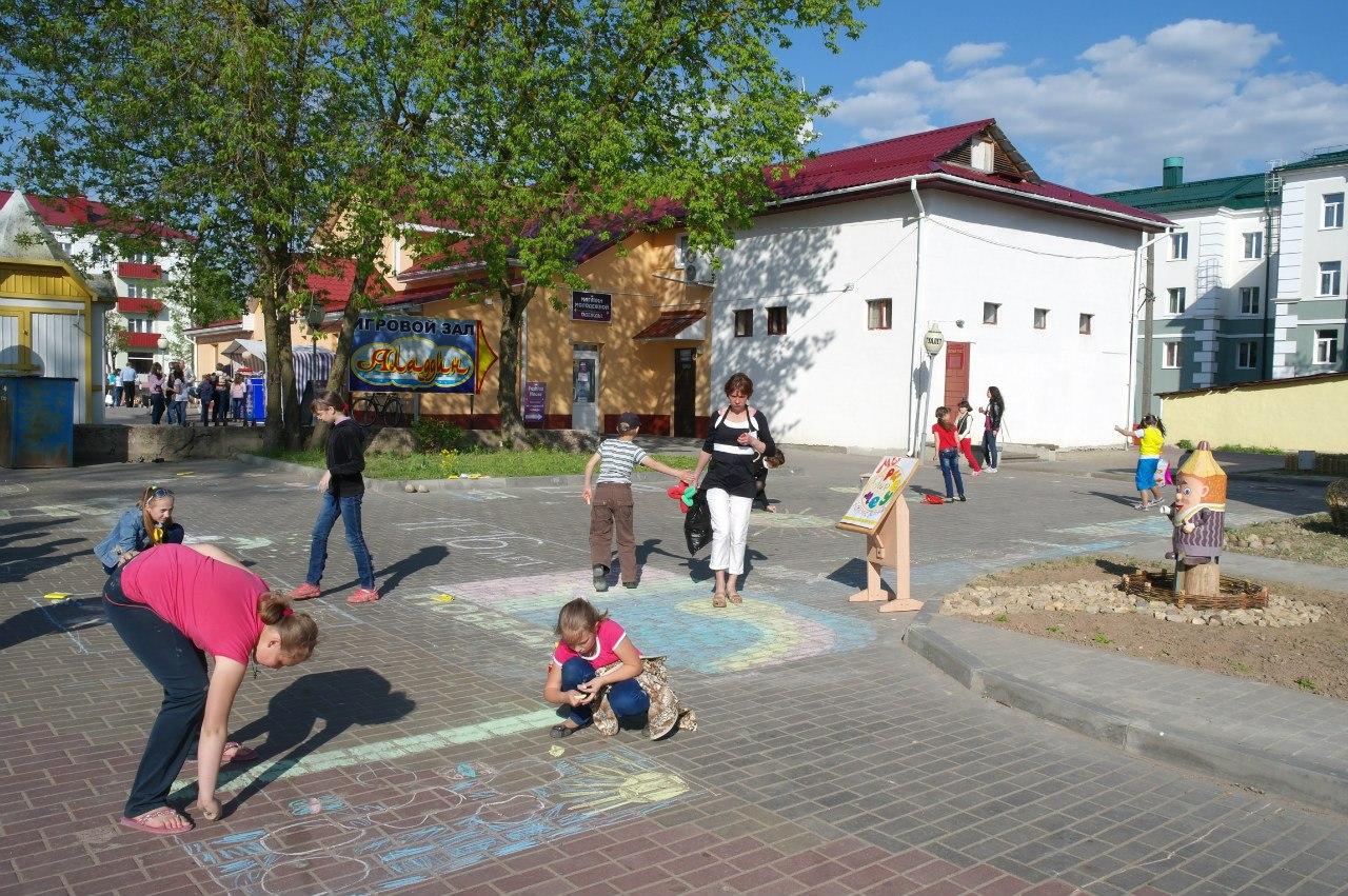 Детский праздник в Горках.