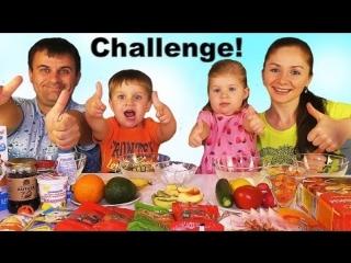 ✿ СМУЗИ ЧЕЛЛЕНДЖ Smoothie Challenge от Kids Diana Show Вызов Принят! Smoothie Challenge