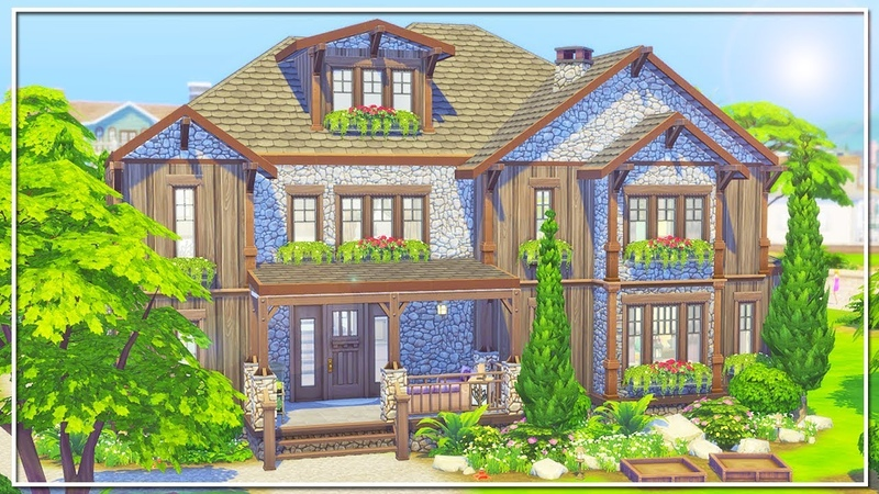 THE SIMS 4 | BUILD | SEASONS BASE GAME FAMILY HOME (Seasons Expansion Pack)