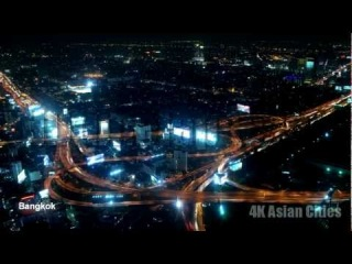 Ultra HD 4K Resolution Video Stock Footage Time Lapse Royalty Free - Asian Cities