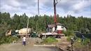 Обзор строительства загородного дома из газобетона в Сойкино - фундамент