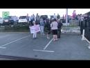 Сторонники кандидата от КПРФ собрались на митинг у здания администрации Приморья