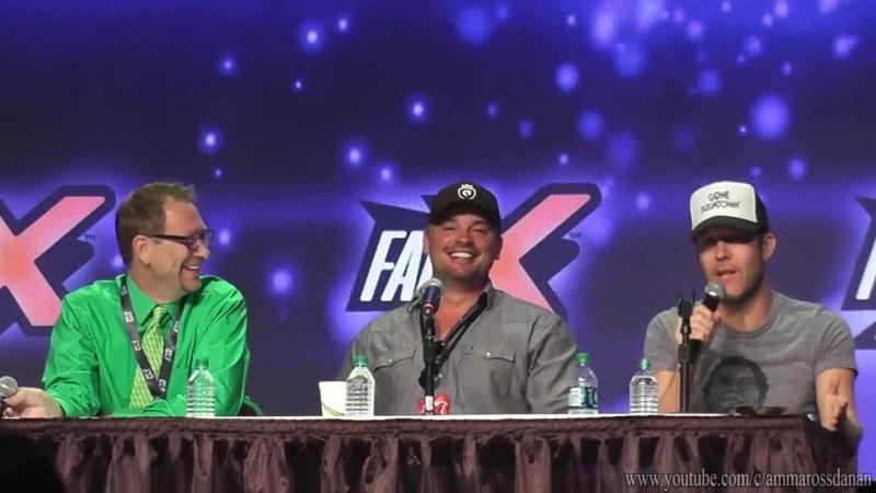 Michael Rosenbaum and Tom Welling - Smallville Panel_QA - FanX 2018