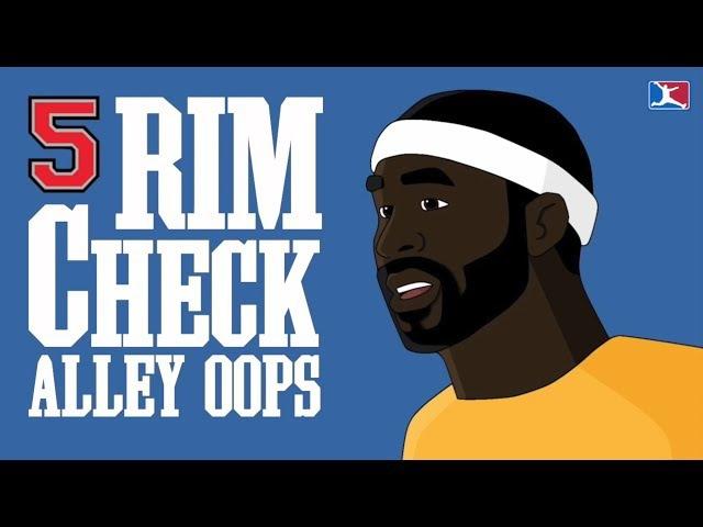 5 Alley Oop Rim Checks