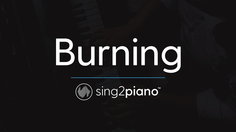 Burning (Piano Karaoke Instrumental) Sam Smith