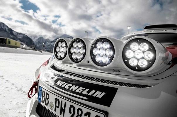 Компания Porsche показала ралли-кар на базе трекового 718 Cayman.