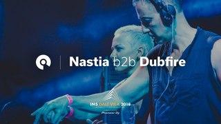 Nastia b2b Dubfire @ IMS Dalt Villa 2018, Ibiza