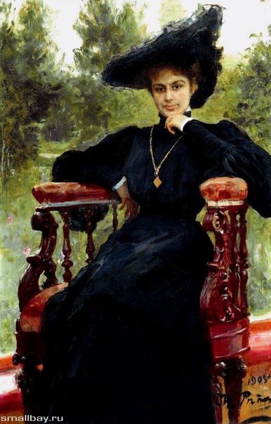 Портреты Елизаветы Званцевой работы Ильи Репина. Репин и его муза познакомились в Санкт-Петербурге, где он обучал ее живописи. Он влюбился сразу, с первого взгляда, но Елизавета предложила ему