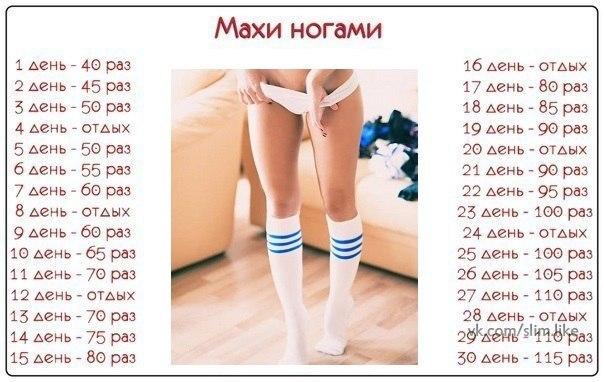 Как быстро и легко похудеть в ногах в домашних условиях