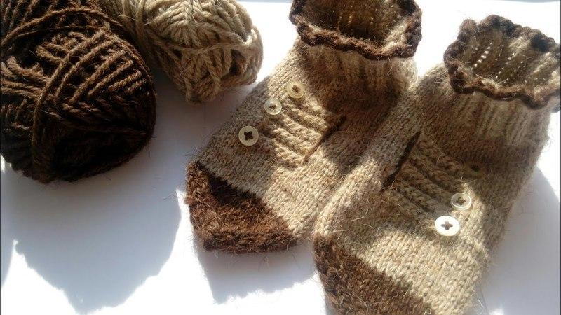 Прикольные носки Чуды Юды первая работа моей ученицы