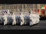 Москва меняется: Торжественный марш в честь 77-й годовщины военного парада 1941г.
