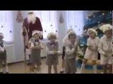 Танец зайчиков на Новогоднем утреннике в детском саду
