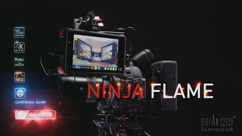 Atomos Ninja Flame - 10bit High-bright 1500nit 4k/HD MonitorRecorder