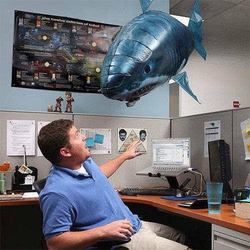 Акула на дистанционном управлении -