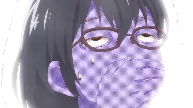Kasumi Nomura feels sick (Asobi Asobase)