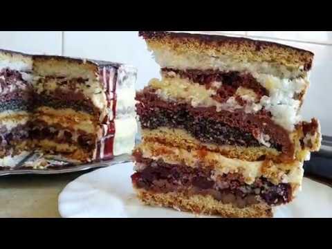 Торт над тортами Вишиванка Високий Пляцок Вишиванка Торт Вышиванка