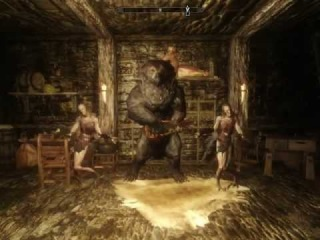 Vassili, the Bear Musician (Skyrim mod)