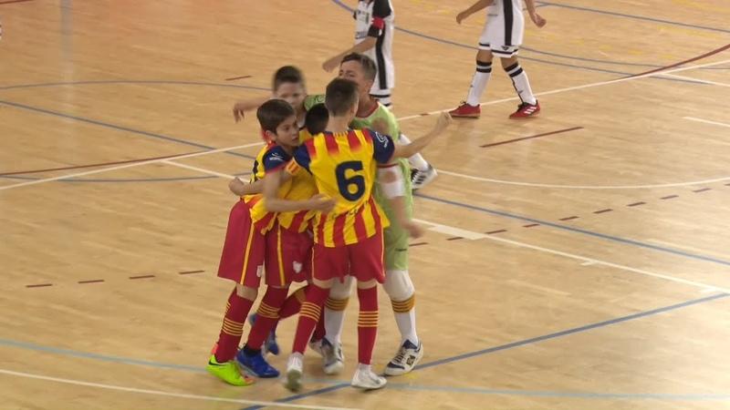 Catalunya - Ceuta. Fase Única del Campionat d'Espanya Aleví Futbol Sala