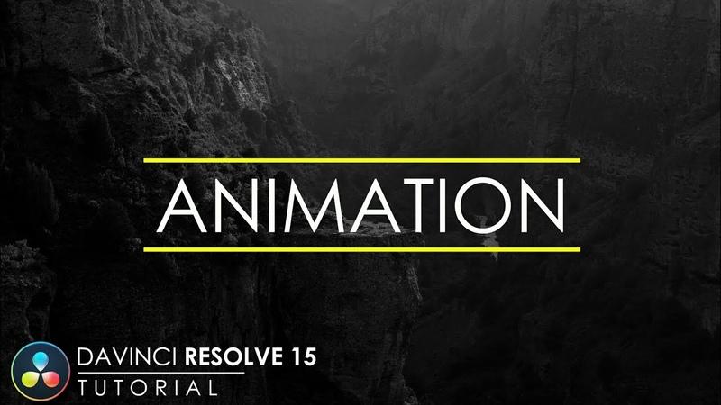 Simple Text Animation in DaVinci Resolve 15 | DaVinci Resolve 15 Tutorial