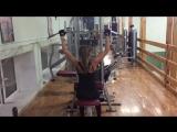 Тренировка на спину и плечи 💪