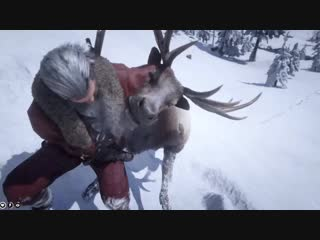 Donner wasn't pulling his weight this year so sadly we had to put him down...merry christmas eve everyone. red dead redemption 2