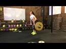 Evstyukhina Nadi - cleanjerk 140 kg