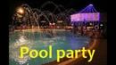Pool party Bloggerstwins ночная вечеринка в бассейне