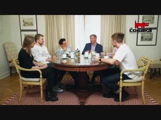 Поперечныи, Альтов, Соболев и Усачев  об эволюции юмора в России