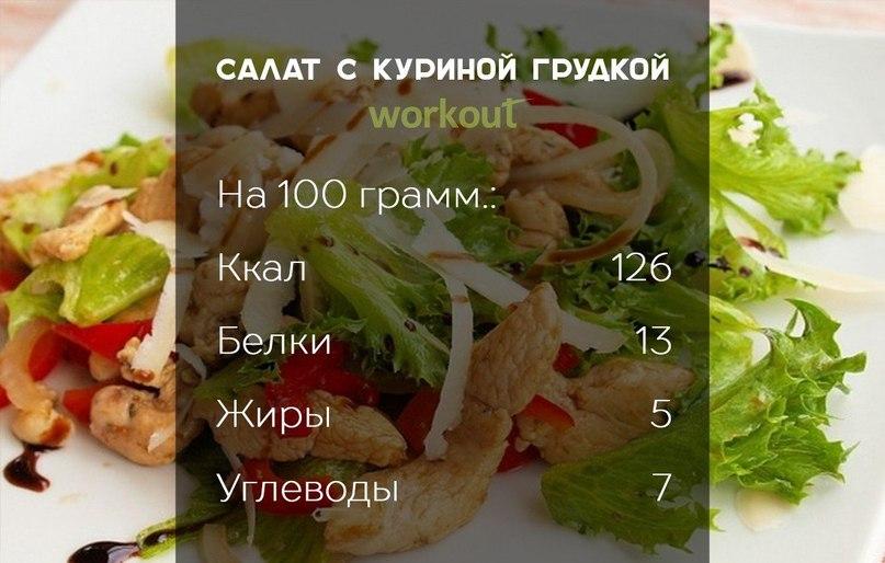 салаты из грудки курицы рецепты с фото