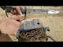 Forging A Mad Max Style Sword From A Leaf Spring.mp4