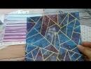 обзор бумаги от Арт-Узор 20 х 20