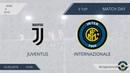 Juventus 1:2 Internazionale, 9 тур (Италия)