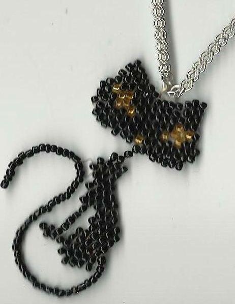 Кто-то может знает где найтидайте ссылку - схемы плетение из бисера кошки ? .
