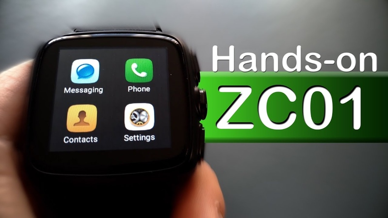 Z01 Smartwatch | Android 5.1 | Quadcore 1.3 Ghz | WiFi | GPS 🔍2