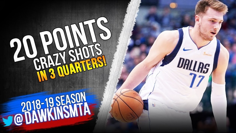 Luka Doncic Full Highlights 2018.11.28 Mavs vs Rockets - 20 Pts, CRAZY SHOTS! | FreeDawkins