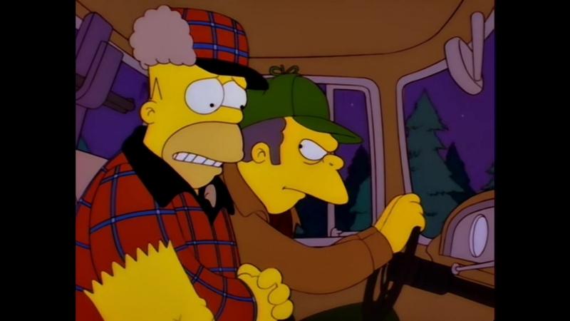 Симпсоны Homer's Phobia