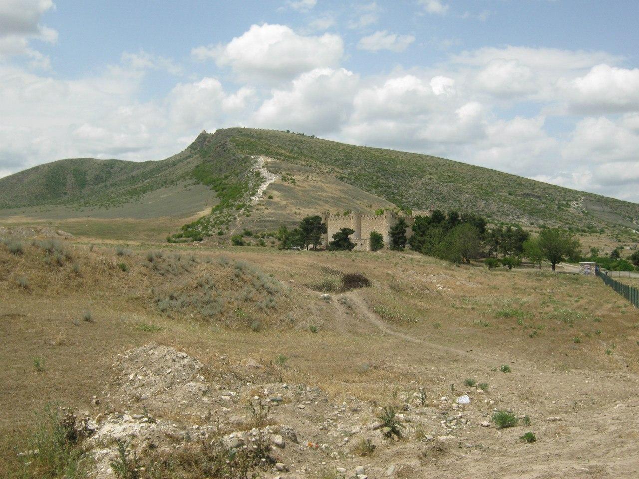 древний город Тигранакерт