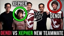 DENDI vs XEPHER - FIRST TIME Playing against his New Teammate on SEA Server - Dota 2