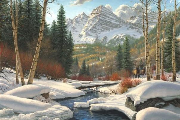 Марк Китли (Mar eathley современный американский художник. Родился в 1963 году. Детство провел на ферме родителей в Восточном Техасе. Рисовать начал с пяти лет. Однажды в одиннадцать лет, на