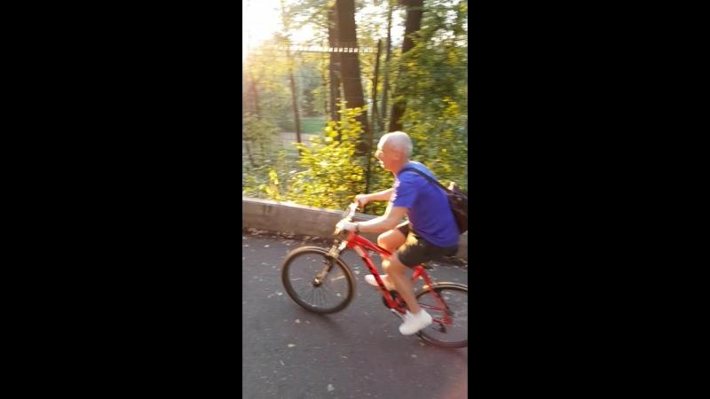Вело в Филевском парке