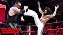 No Way Jose vs. Baron Corbin Raw, May 21, 2018