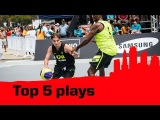 Top 5 Plays - 2014 FIBA 3x3 World Tour - Rio de Janeiro Masters