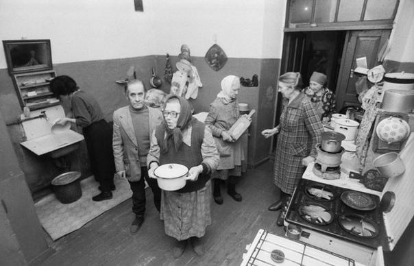 Условия жизни и негласные принципы в советских коммуналках.