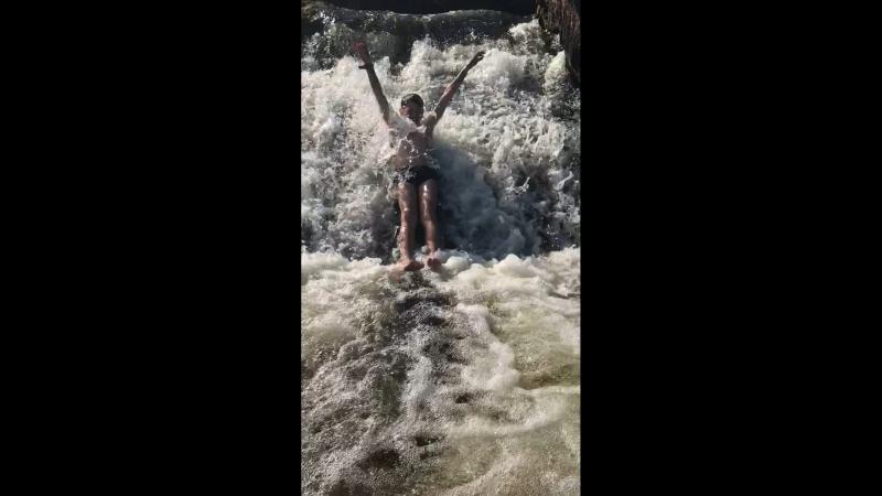 Водопад Лавна Мурманск