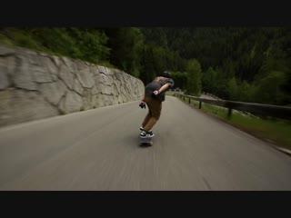 Скоростной спуск в Австрии