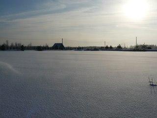 Белый снег, чистый свежий воздух.