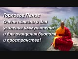 Мощнейшая мантра исцеления. Поющие тибетские монахи