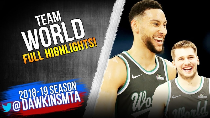 Team World Full Team Highlights 2019 Rising Star Challenge - 144 Pts! | FreeDawkins