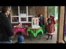 Видео показа фрагмента сказки Теремок сотрудниками библиотек - Нац.центров
