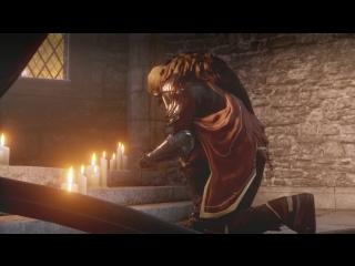 Dragon Age: Inquisition — Каллен молится перед битвой